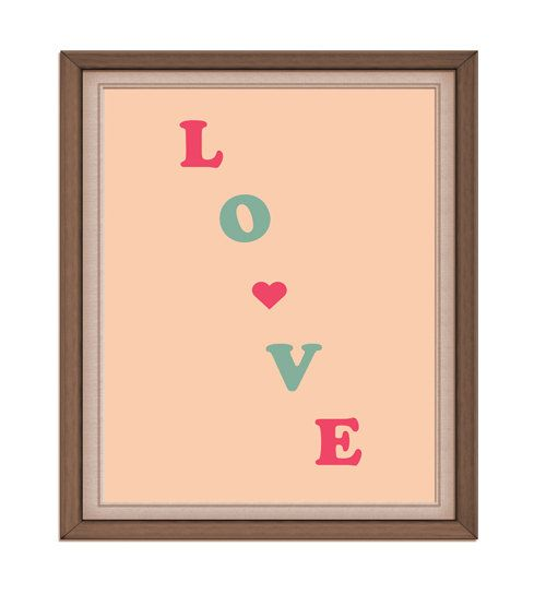 INSTANT DOWNLOAD  love  Printable Digital by rabbitsillusions