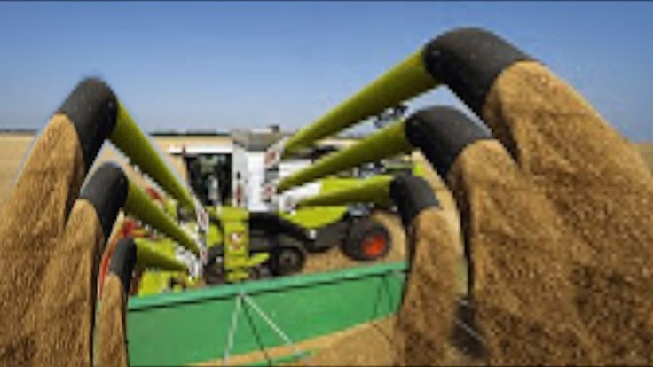 nice Latest Farming Machine Technology - Primitive Power Agriculture Tools