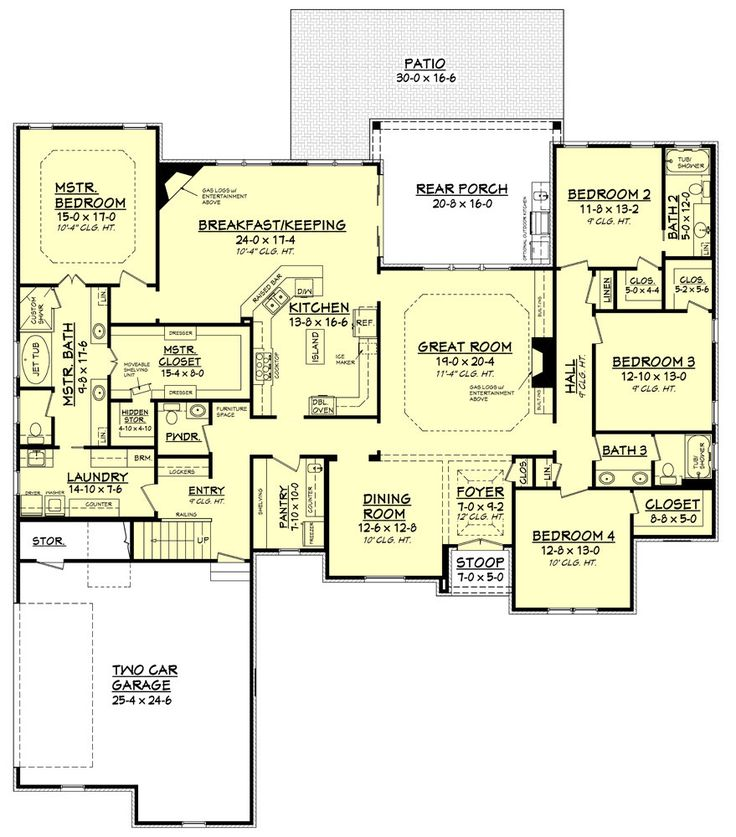 best 20+ rambler house plans ideas on pinterest | rambler house
