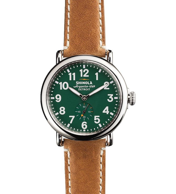 SHINOLA - S0100026 Runwell stainless steel watch | Selfridges.com