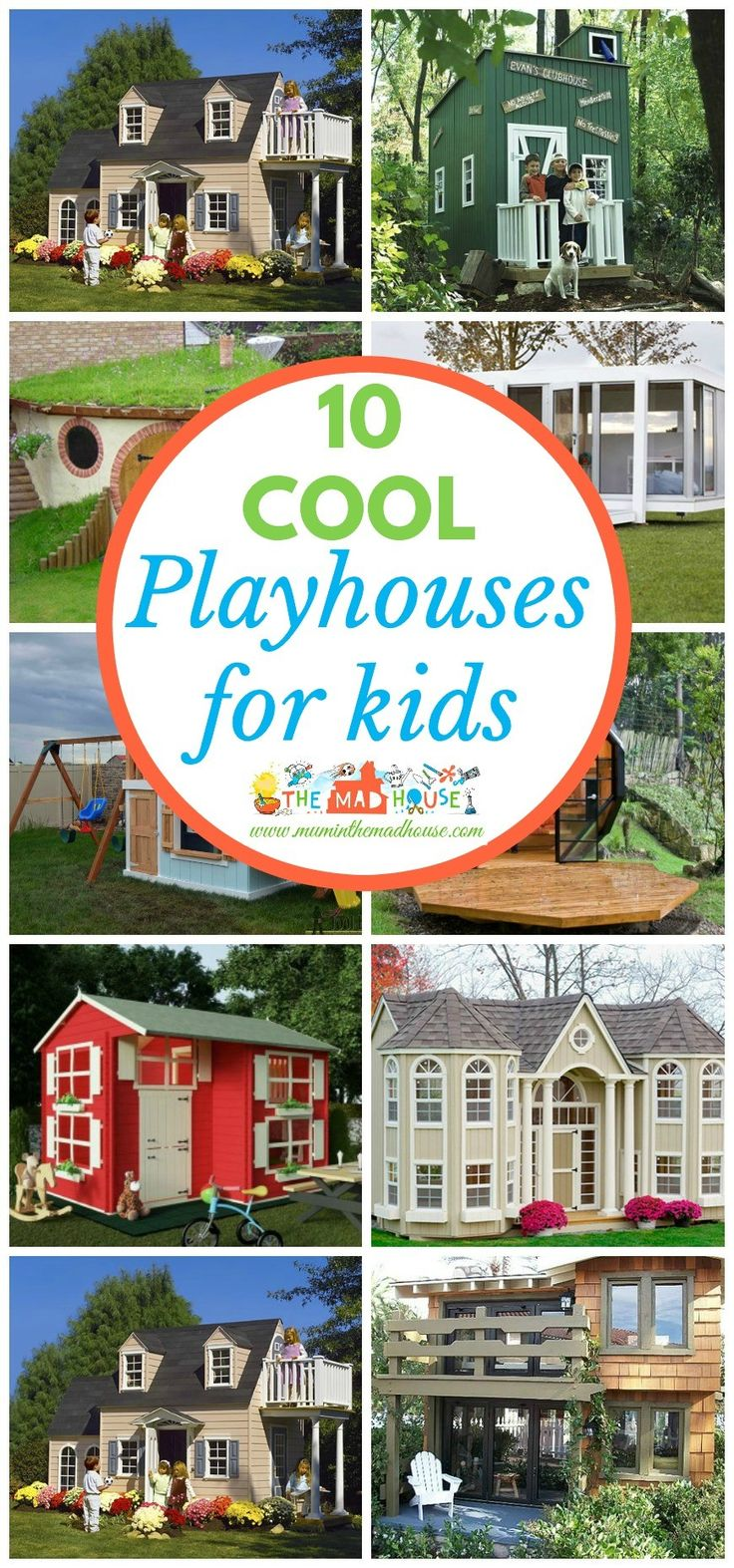 71 best diy outdoor kids playhouses images on pinterest backyard