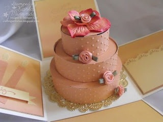 """How to make a """"Cake"""" Box.  Anything can go in it!"""
