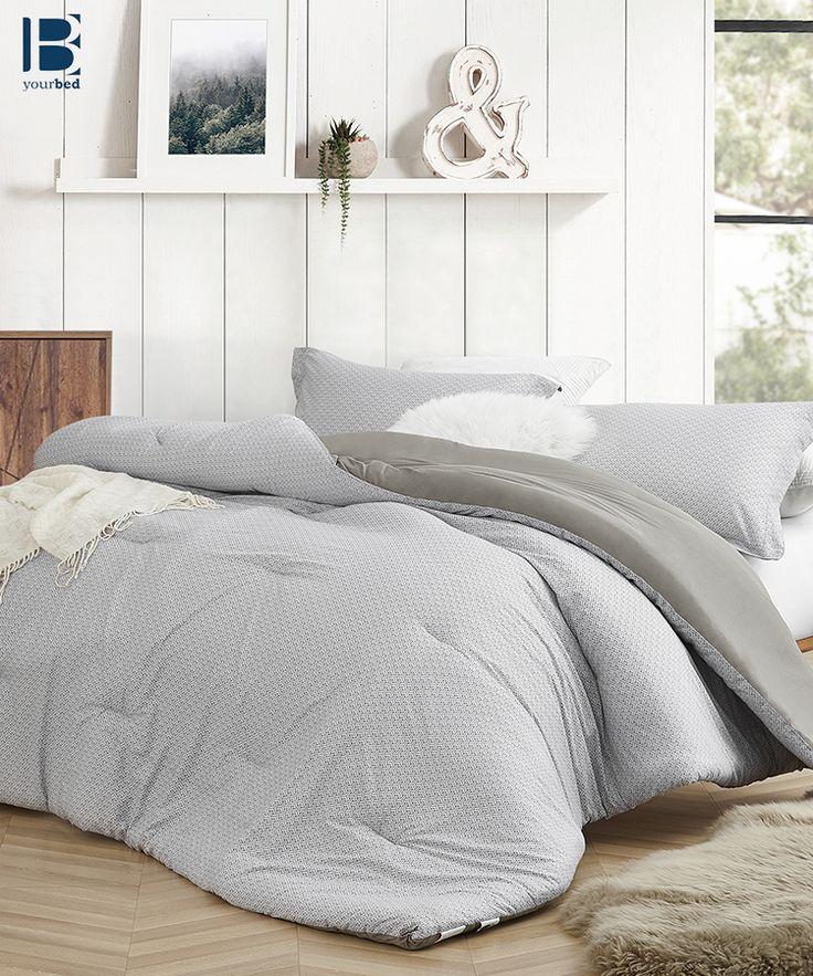 Designer king xl bedding easy to match farmhouse gray