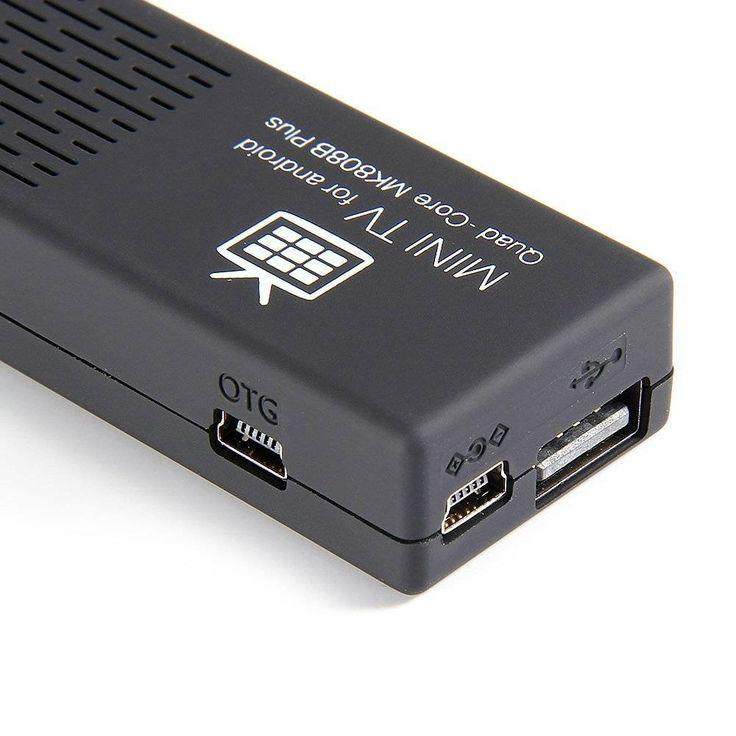 Procesador Quadcore Bluetooth, Wifi HDMI 1080P Google Android 4.4 Compatible con Netflix, Youtube y mas.