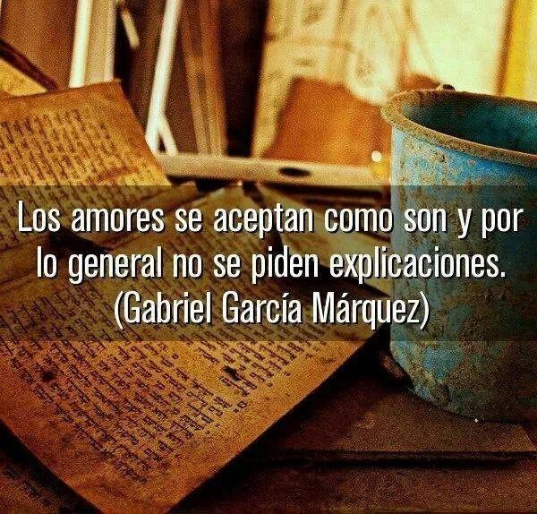 Gabriel Garcia Marquez...I just found out Garcia Marquez passed away. :(