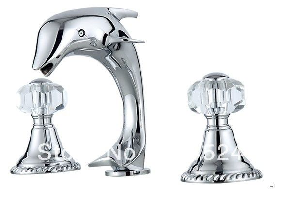 17 best images about bathroom on pinterest chrome finish toilets and dolphins - Dolphin faucets ...