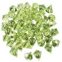 Lime Green Gems (25 Pack)