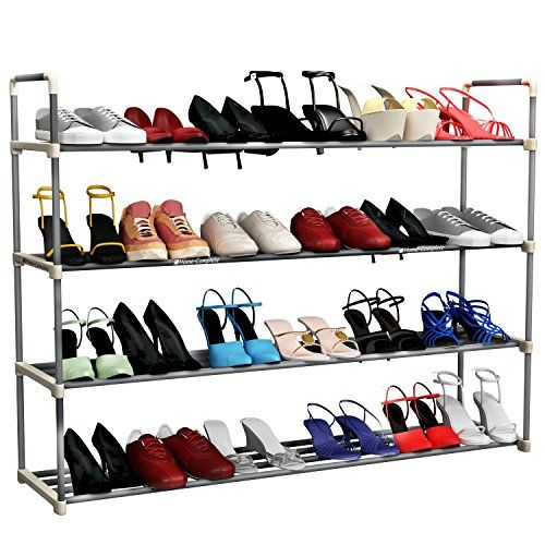 Best Shoe Rack Organizer Storage Bench - Store up to 20 Pairs in Your Closet Cabinet or Entryway - Easy to Assemble - No Tools Required Home-Complete http://www.amazon.com/dp/B013F0RJE6/ref=cm_sw_r_pi_dp_0d2xwb0NV67VN