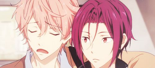 "Kisumi:""You won't believe what happened to m-"" Rin:""HARU!"" *Rin steps out of the way* *Kisumi is betrayed a second time*"
