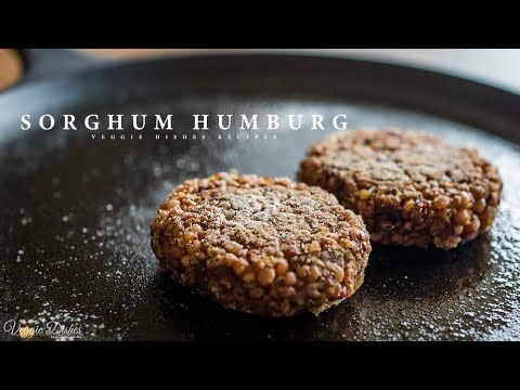 食感はまるで豚ひき肉!? 高きびハンバーグの作り方 : How to make Sorghum Hamburg | Veggie Dishes by Peaceful Cuisine - YouTube