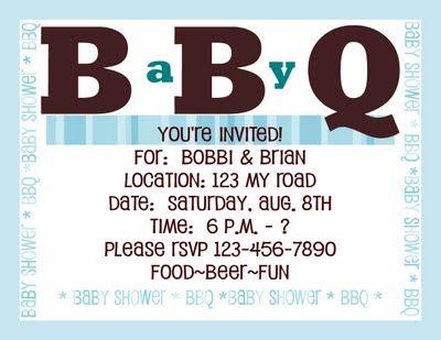 baby q baby shower