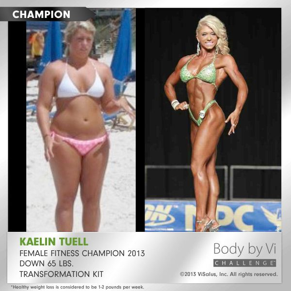 Proof that the Visalus Body By Vi Challenge works.... Look at my friend Kaelin Tuell #viresults #challenge   susanpacetti.com