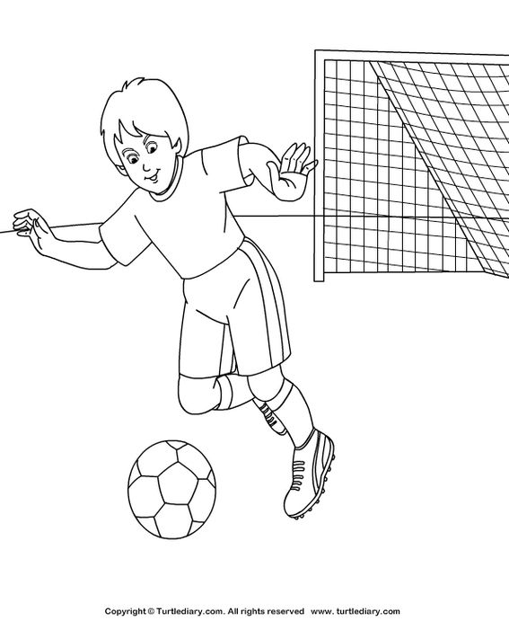 Great Coloring Pages Of A Variety Of Athletic Designs 2020 Okul Oncesi