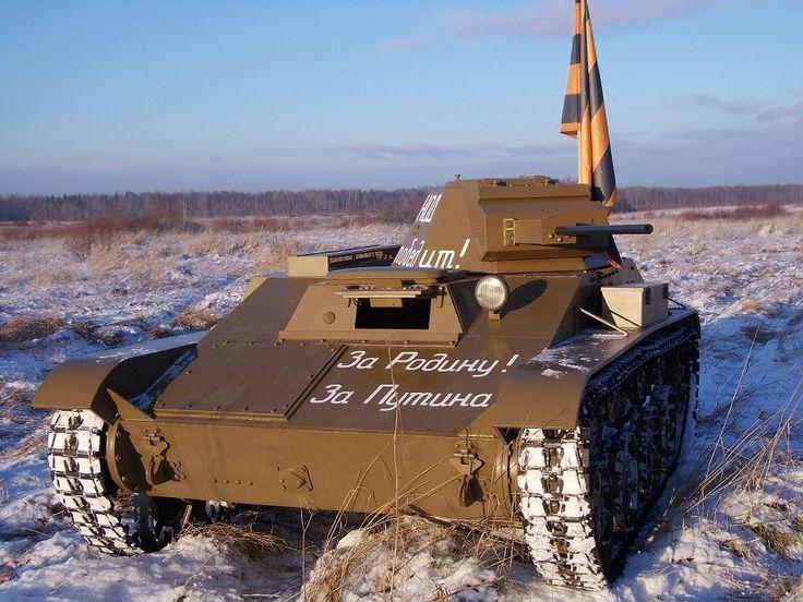 Модель танка «Т-60» в масштабе 1:1
