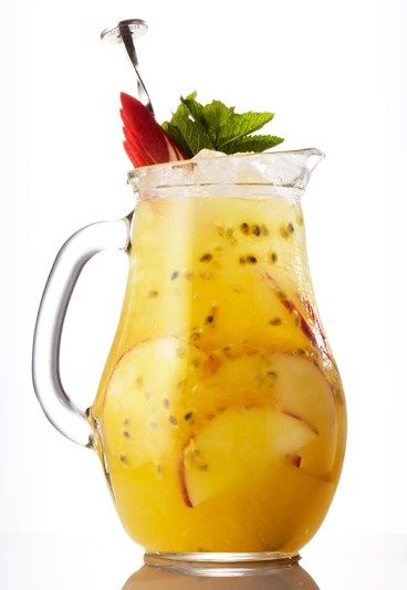You Passionate Ting - Mocktails: Our top non-alcoholic cocktails - This passionfruit cocktail is a real tropical treat. It may be free from alcohol, but it's intoxicatingly fresh and fruity! For that authentic beach-in-the-Caribbean feel, share with a friend through long, curly straws...