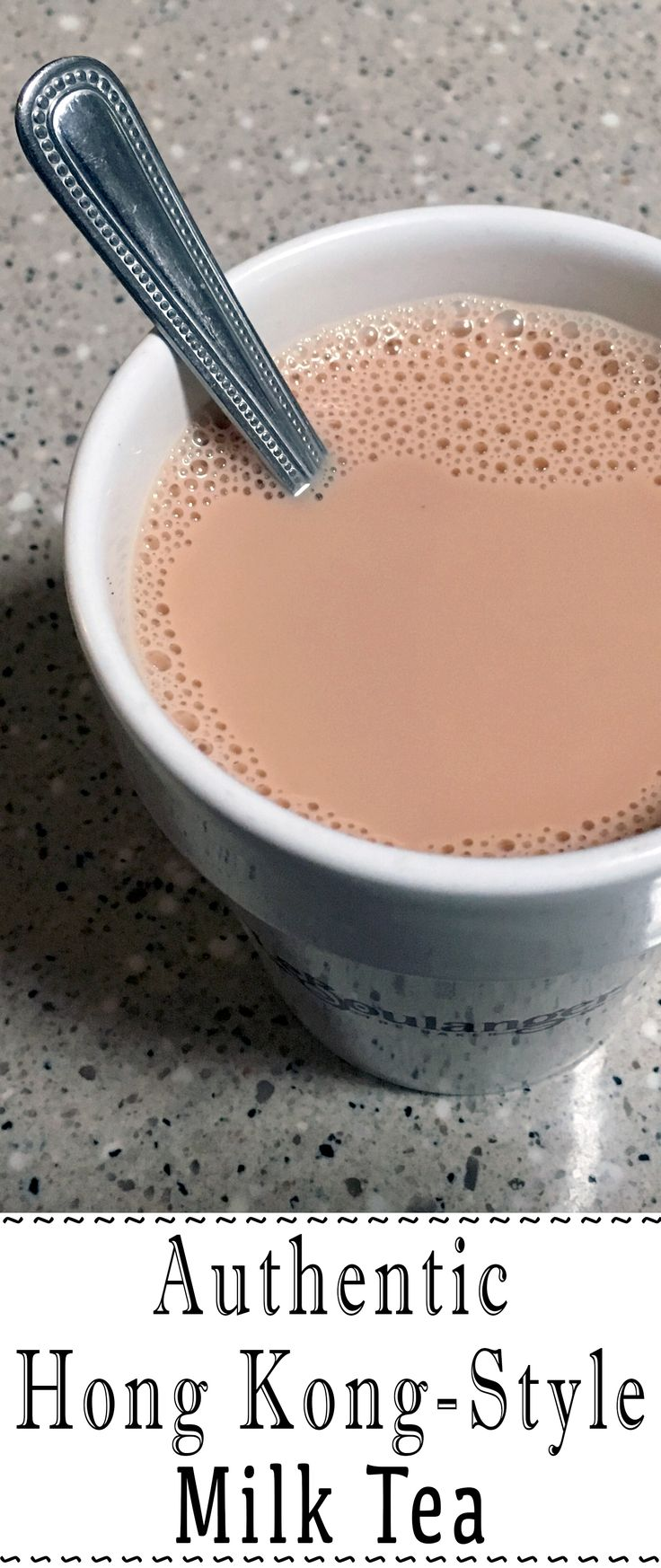 """Hong Kong milk tea, otherwise known as """"silk stocking"""" tea, is traditionally made with very strong black tea and evaporated milk. It is great served piping hot or cold."""