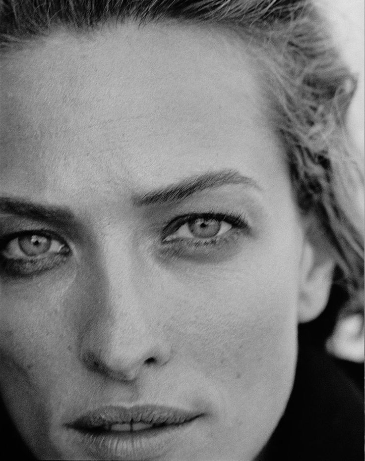 Tatjana Patitz - Photo: Peter Lindbergh