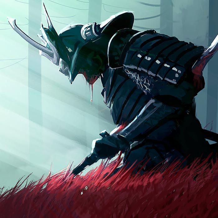 Samurai In The Woods Wallpaper Engine Engine samurai