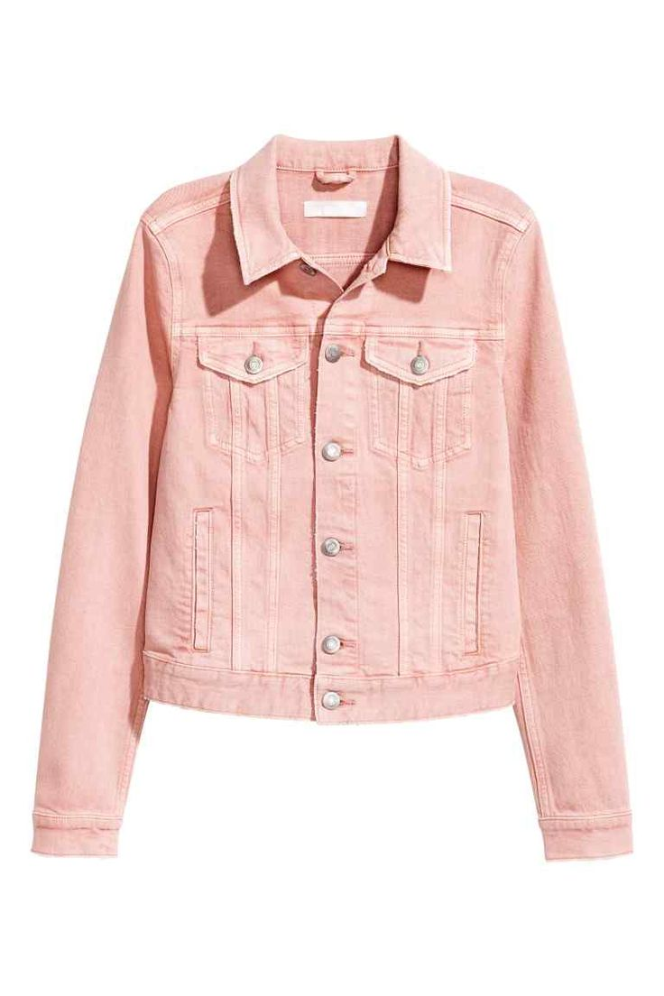 Denim jacket - Light pink - Ladies | H&M