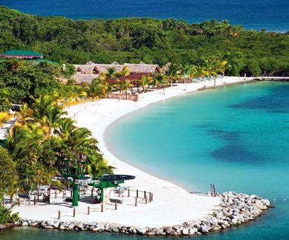 Isla Roatan, Honduras  was here a few years ago   to snorkle the reefs LOVED IT!!!
