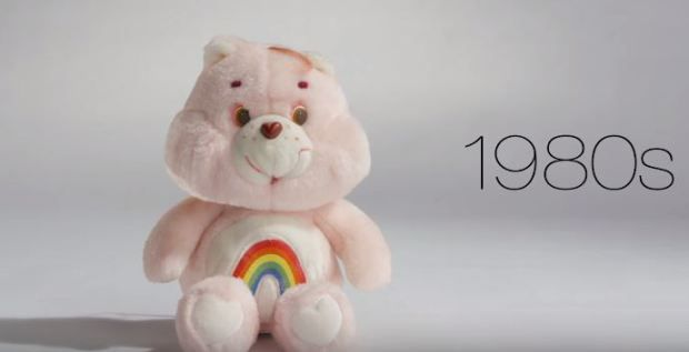 While all the kids are clamouring over sing-along Elsa dolls and Paw Patrol vans, we're still firmly of the opinion that Care Bears and Tickle Me Elmo are so much cooler.  Fuelling for nostalgia for the playtime of the 80s and 90s is the latest video from Mode, which shows the world's favourite toys over the last 100 years.