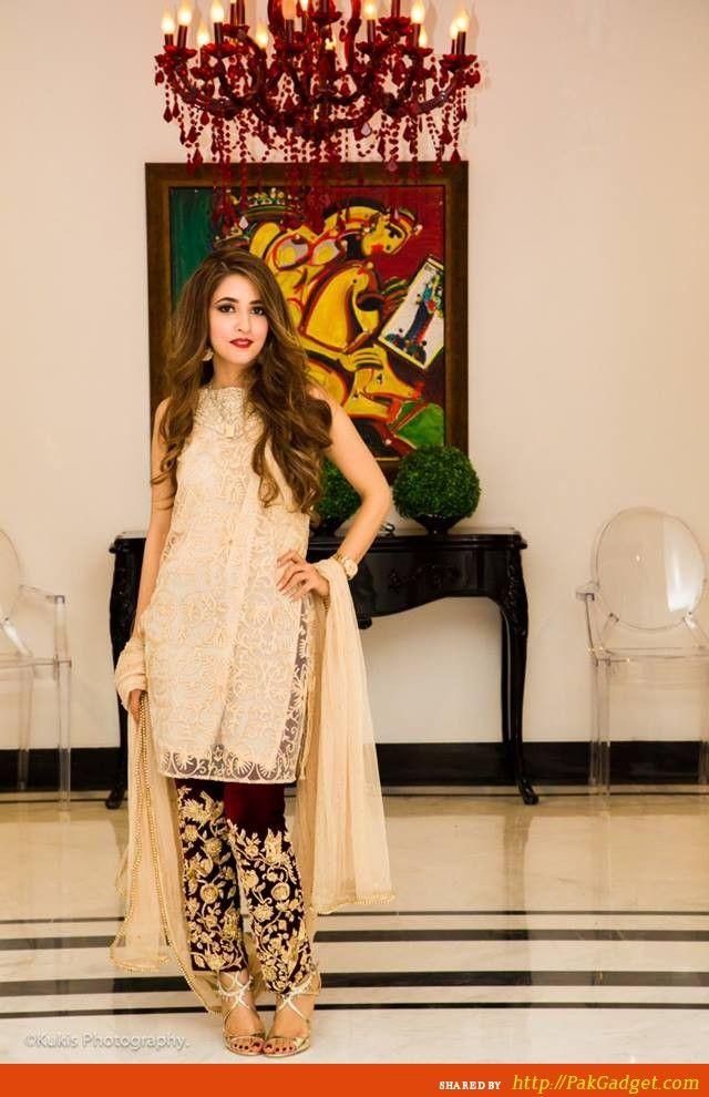 Mina Hassan Designer Wear Gowns 2014 2015