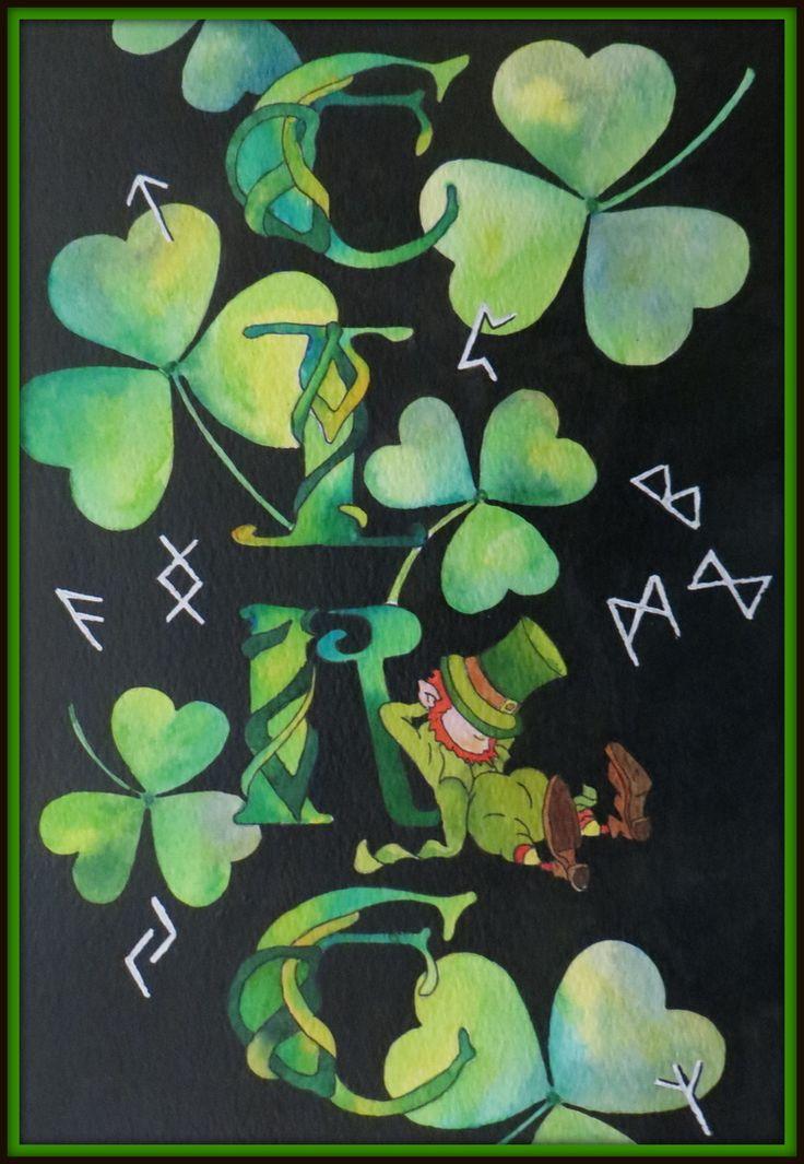 "June 2016 ArtTutor Challenge Winner - ""A Bit of Blarney"" by Gill Farquharson"