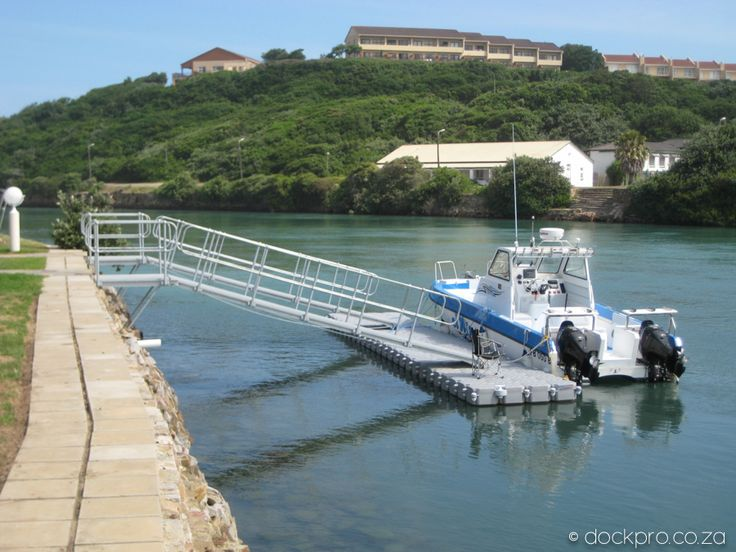 Jetties and dry docks. DOCKPRO - custom modular flotation systems for both commercial and recreational markets.   info@dockpro.co.za | www.dockpro.co.za
