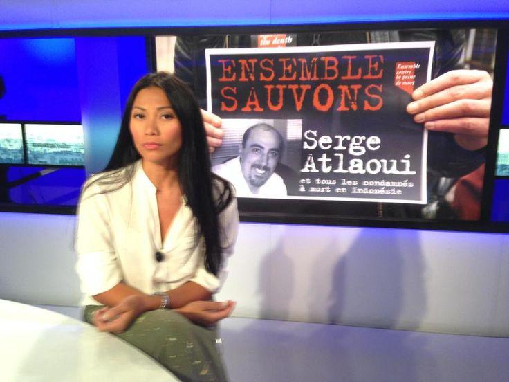 Anggun lance un appel au président indonésien sur Tv5monde