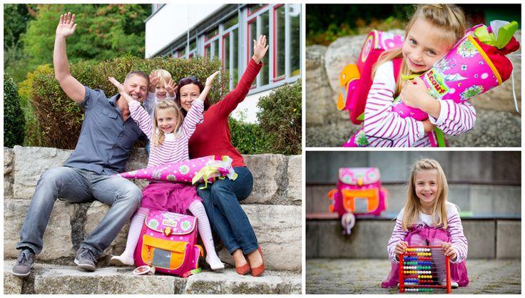 Einschulungsbilder zum ersten Schultag - Familienfotograf Fürth