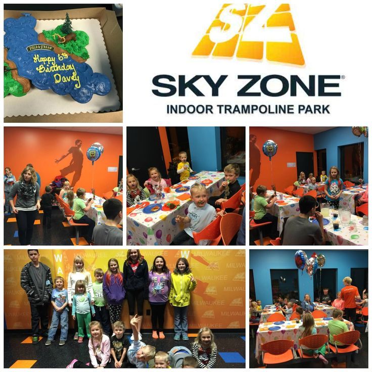 17 Best Images About Sky Zone Birthday On Pinterest