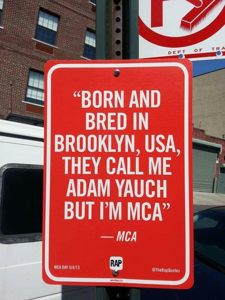 Beastie Boys MCA Brooklyn, NY