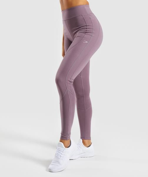 30a2eb3bc7aea Gymshark Pace Running Leggings - Purple Wash | Gym clothes | Running ...
