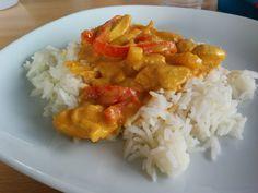 Elke Hap: Mango kip curry