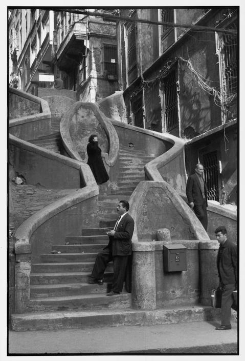 Henri Cartier-Bresson (1964) at Galata, Istanbul, Turkey