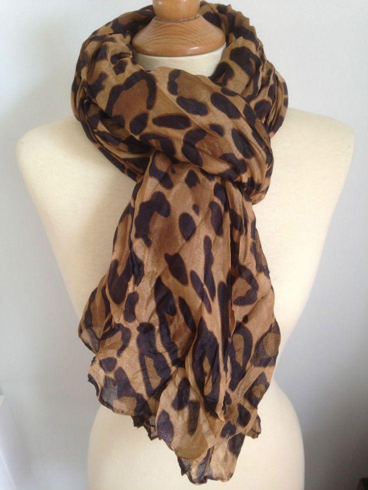 echarpe leopard pas cher 3c0970701c6