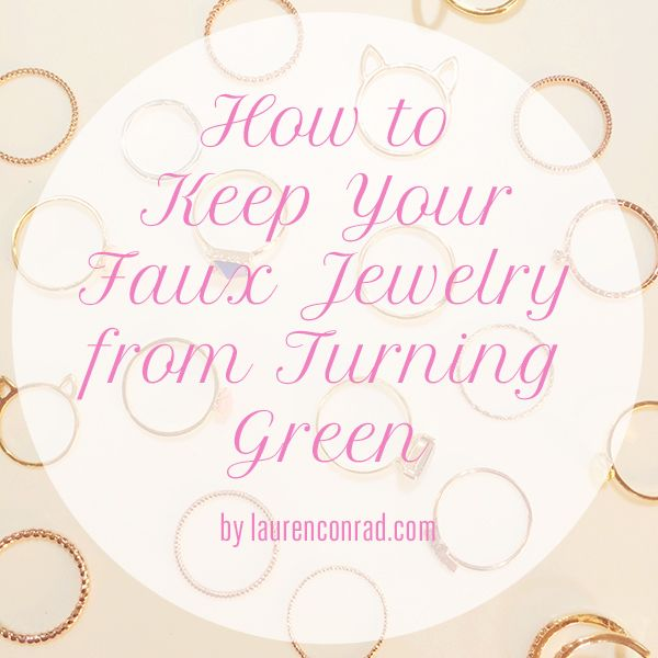 Odds & Ends: How to Keep Your Inexpensive Jewelry From Turning Green