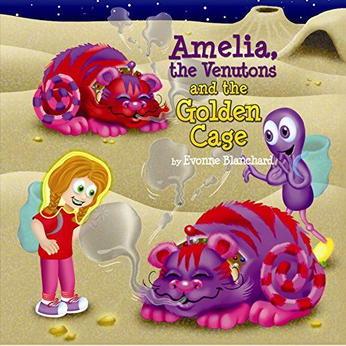 117 best k children fantasy books images on pinterest kindle amelia the venutons and the golden cage book two amelias amazing space adventures fandeluxe Ebook collections