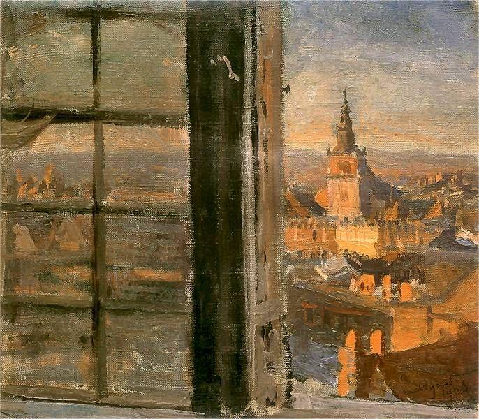 Widok z Wawelu | Leon Wyczółkowski