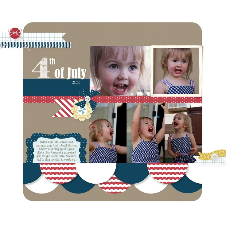 Stamping with Erica: MDS Blog Hop: Sketch (Using Pinwheels on Parade Kit)Scrapbook Ideas, 2012 Scrapbook, Blog Hop, Scrapbook Inspiration, Digital Scrapbook, 4Th July, Scrapbook Layout, Business Scrappin, Chatham