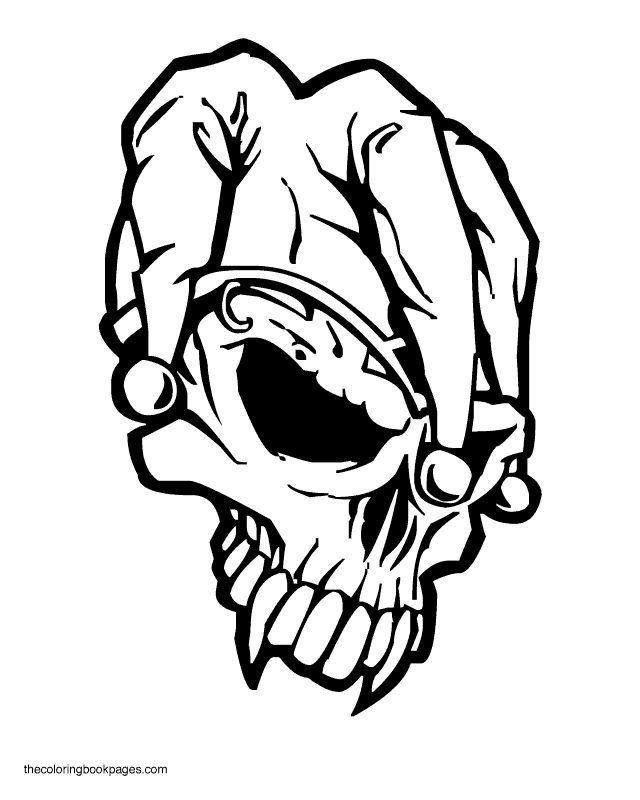 r skulls Colouring Pages (page 2) | Skull coloring pages ...