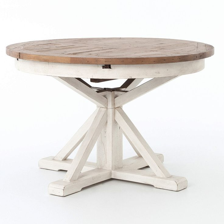 Expandable Round Dining Table best 25+ round extendable dining table ideas on pinterest | round