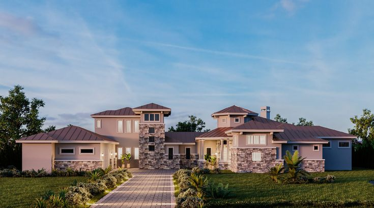 Impressive Exclusive Tuscan House Plan with Game Room - 430033LY | Architectural Designs - House Plans