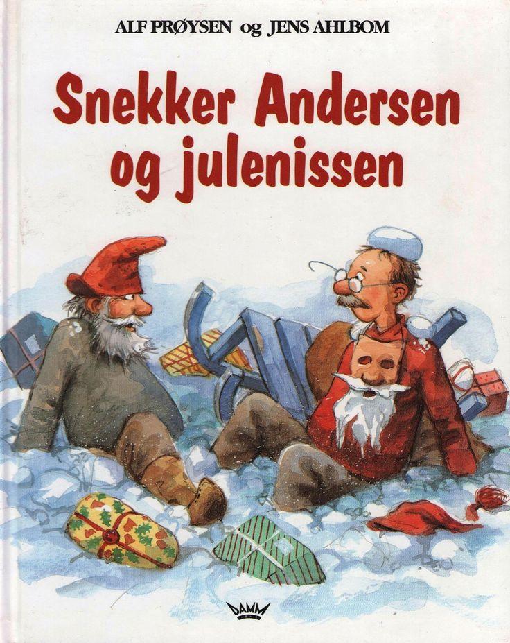 """Alf Prøysen: --""""Snekker Andersen og julenissen"""". Bokklubbens barn 2000. ---""""Snekker Andersen og julenissen"""". Tiden norsk forlag 1993. -- """"Teskjekjerringa på julehandel"""". Gyldendal 2002 -- """"Julekveldsvise"""". Tiden 1991. --""""Musevisa"""". Bokklubbens barn 1998. --""""Musevisa"""". Tiden norsk forlag 1989. Alle bøkene er hele og pene. Kr.80.- pr.bok. Kjøper betaler frakt eller henter selv."""