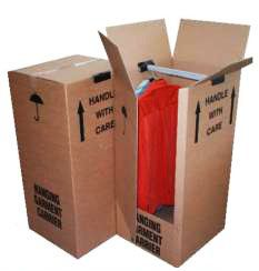 5 x Double Wall Wardrobe Removal Boxes 20