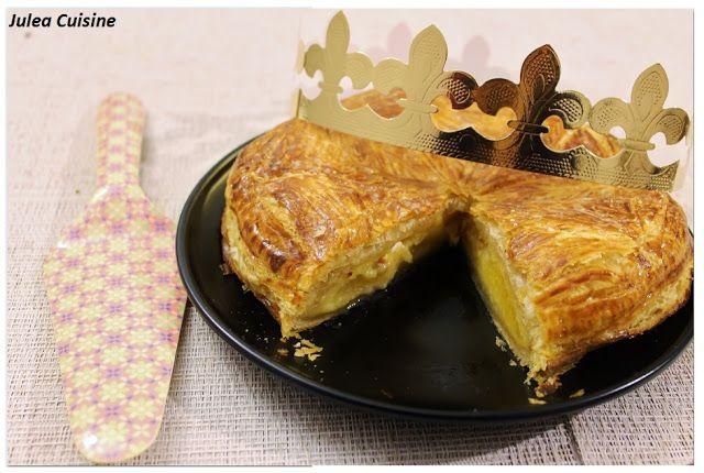 Julea Cuisine - Ma petite cuisine au quotidien: Galette à la crème d'amande, au rhum et aux abrico...