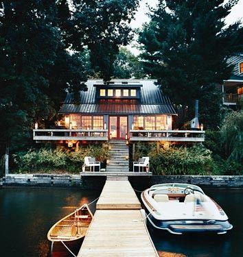 lake to door