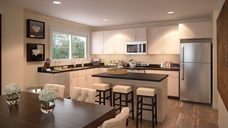 High end finishings in our stylish new kitchens