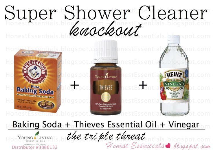 Honest Essentials Super Shower Cleaner All Natural All Natural Cleaner Thieves Essential Oil