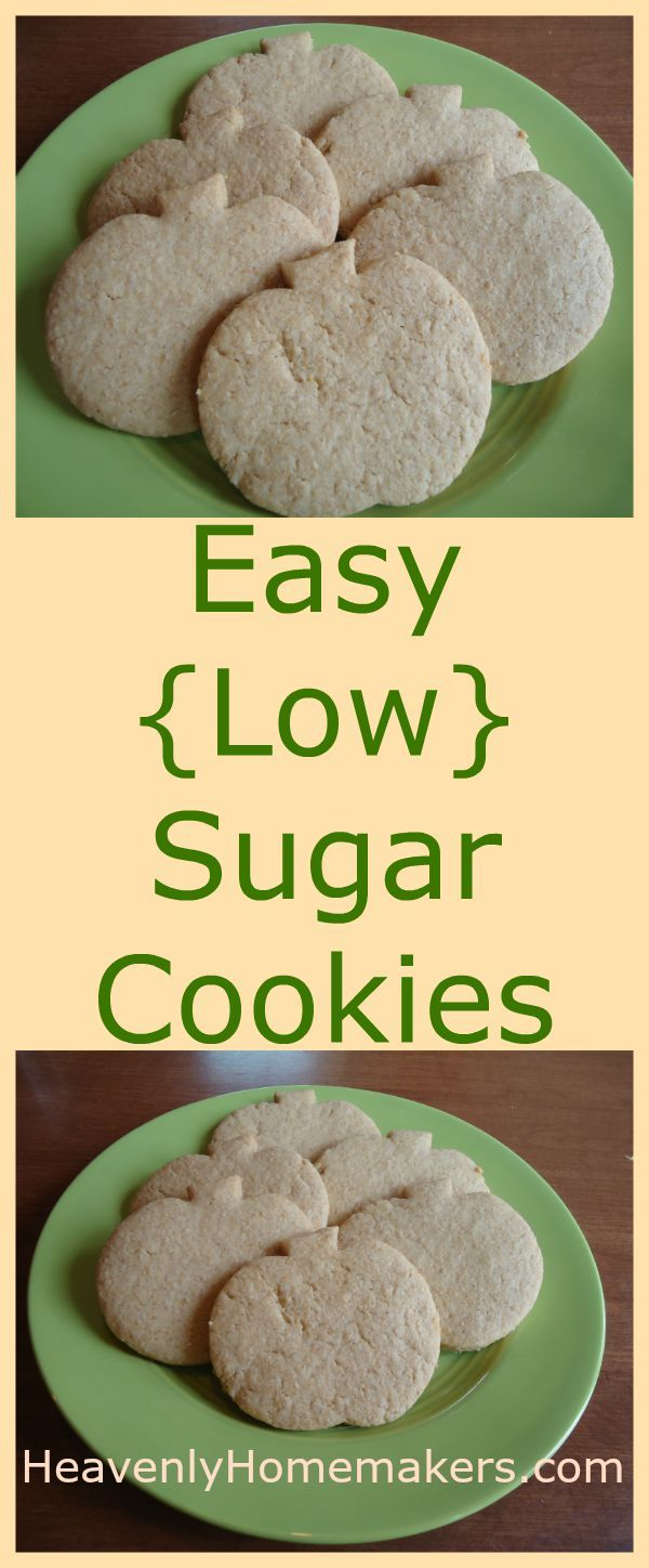 I tinkered with my old sugar cookierecipe and cut the sugar from 1 1/2 cups down to just 1/2 cup. I personally think it could be cut even more, but that's because I am weird about sweetness levels now. I'm the one who thinks coffee is sweet when it has only cream stirred into it. …